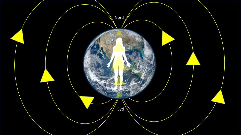 Videnskab; Magnetisk nord og sydpol har direkte indflydelse på dit helbred