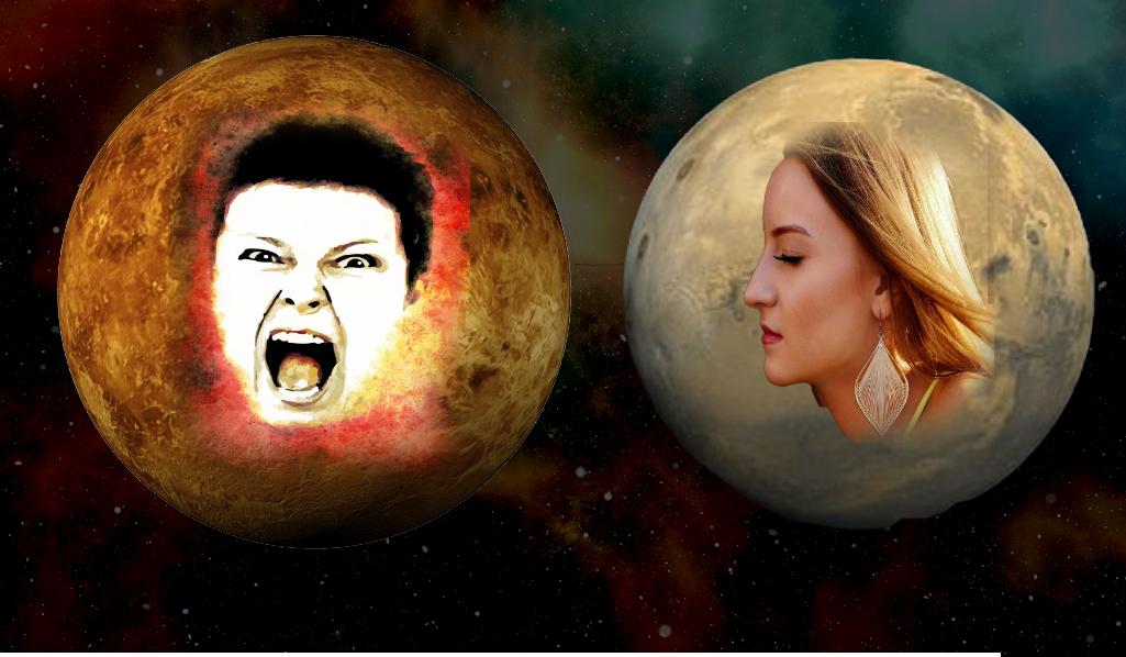 Kobber og zink, Mars og Venus